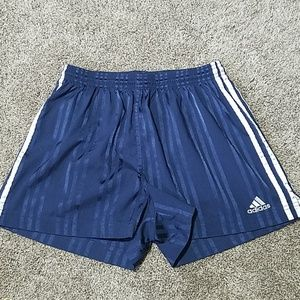 Adidas Athletic Shorts Blue